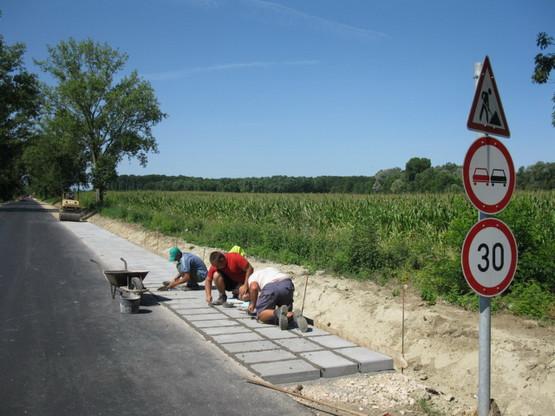 Sellye útépítés15