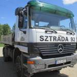 Mercedes Actros 1835 4X4 billencs